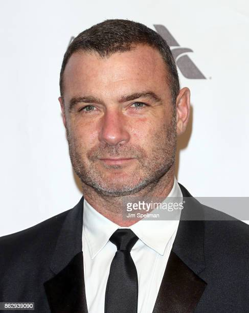 Actor Liev Schreiber attends the 2017 American Ballet Theatre Fall gala at David H Koch Theater at Lincoln Center on October 18 2017 in New York City