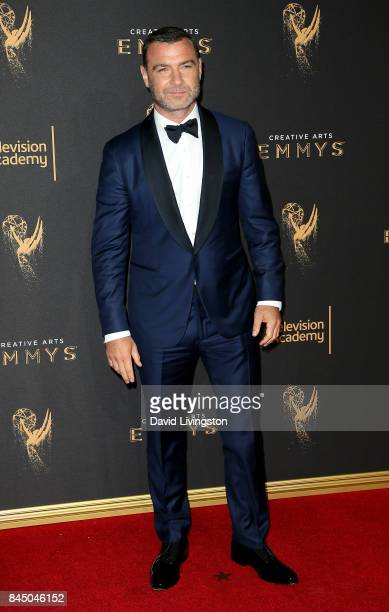 Actor Liev Schreiber attends the 2017 Creative Arts Emmy Awards at Microsoft Theater on September 9 2017 in Los Angeles California