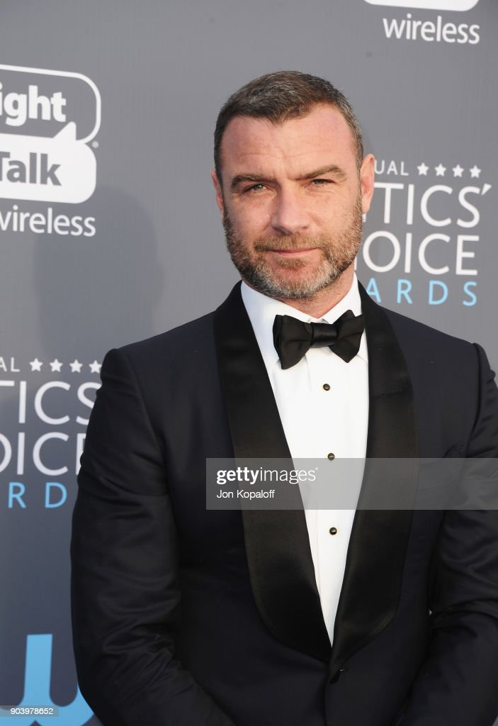 Actor Liev Schreiber attends The 23rd Annual Critics' Choice Awards at Barker Hangar on January 11, 2018 in Santa Monica, California.
