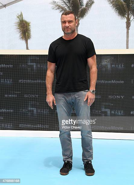 Actor Liev Schreiber attends 'The 5th Wave' photo call during Summer Of Sony Pictures Entertainment 2015 at The RitzCarlton Cancun on June 12 2015 in...
