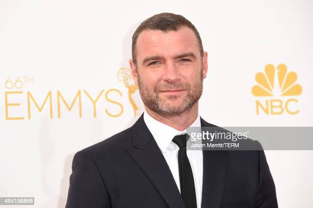 Actor Liev Schreiber attends the 66th Annual Primetime Emmy Awards held at Nokia Theatre LA Live on August 25 2014 in Los Angeles California