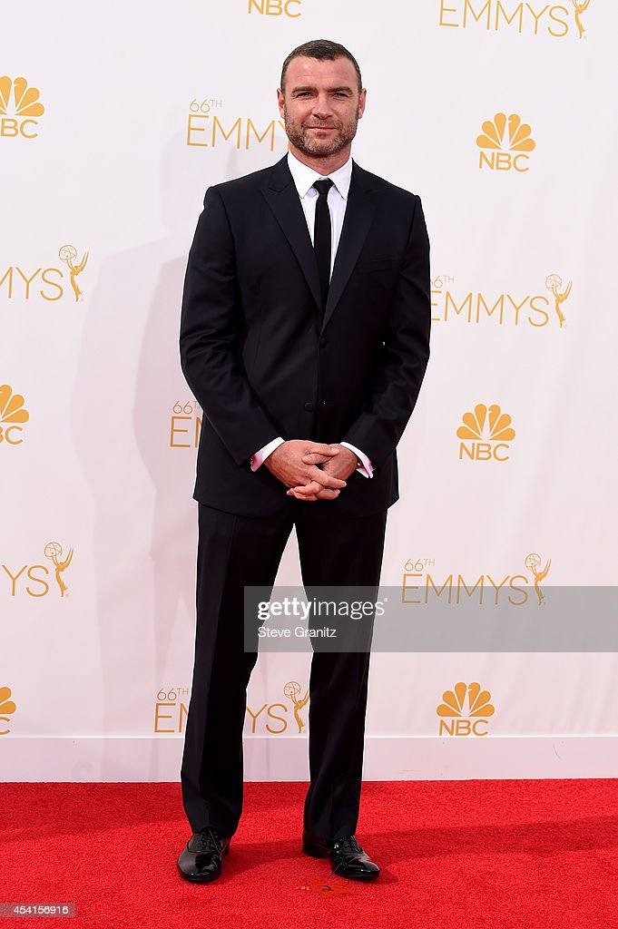 Actor Liev Schreiber attends the 66th Annual Primetime Emmy Awards held at Nokia Theatre L.A. Live on August 25, 2014 in Los Angeles, California.