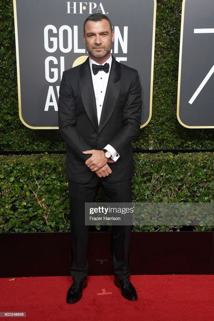 Actor Liev Schreiber attends The 75th Annual Golden Globe Awards at The Beverly Hilton Hotel on January 7, 2018 in Beverly Hills, California.
