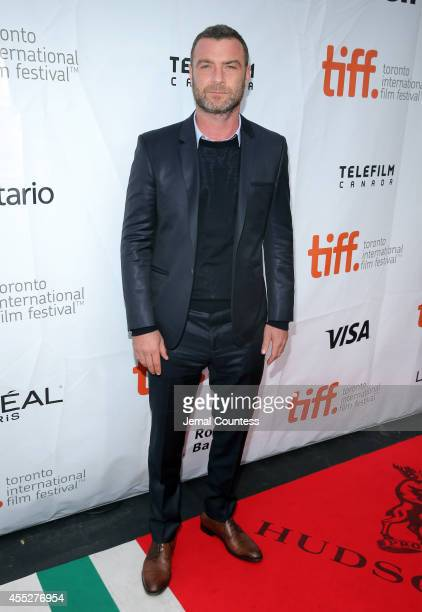 Actor Liev Schreiber attends the Pawn Sacrifice premiere during the 2014 Toronto International Film Festival at Roy Thomson Hall on September 11 2014...