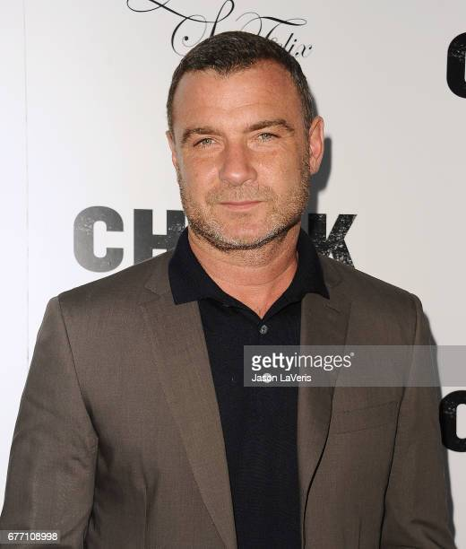 Actor Liev Schreiber attends the premiere of 'Chuck' at ArcLight Cinemas on May 2 2017 in Hollywood California