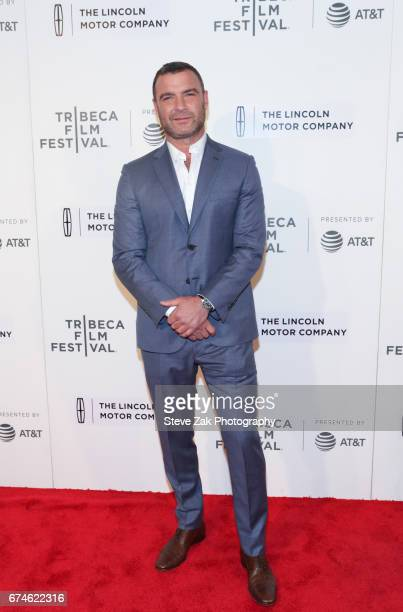 Actor Liev Schreiber attends the screening of 'Chuck' during the 2017 Tribeca Film Festival at BMCC Tribeca PAC on April 28 2017 in New York City