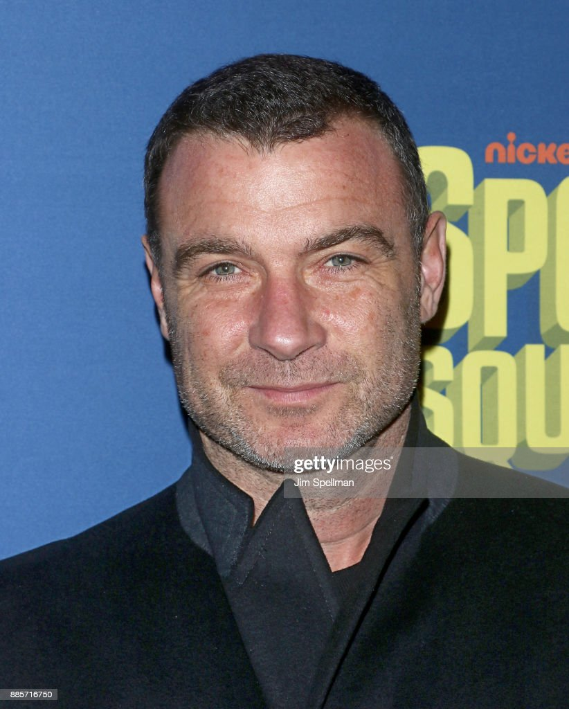 Actor Liev Schreiber attends the'Spongebob Squarepants' Broadway opening night at Palace Theatre on December 4, 2017 in New York City.
