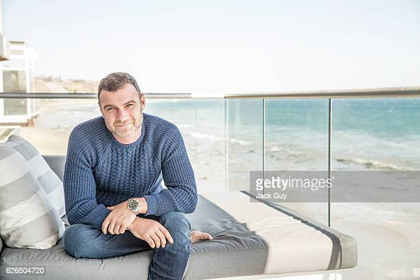 Actor Liev Schreiber is photographed for Emmy Magazine on April 17 2015 in Malibu California COVER IMAGE