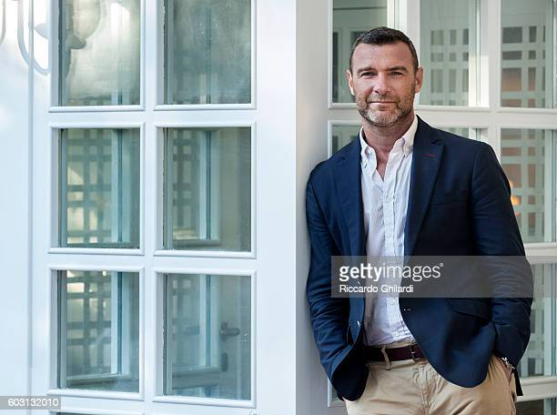 Actor Liev Schreiber is photographed for Self Assignment on September 2 2016 in Venice Italy