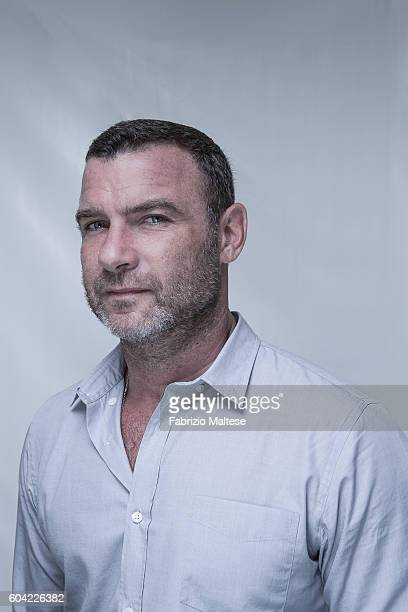 Actor Liev Schreiber is photographed for Self Assignment on September 3 2016 in Venice Italy