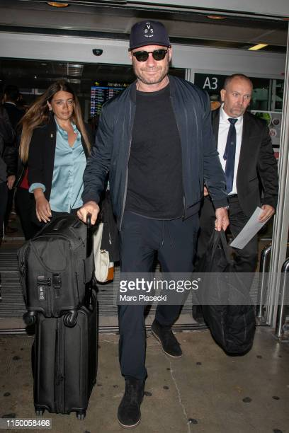 Actor Liev Schreiber is seen at Nice Airport on May 18 2019 in Nice France