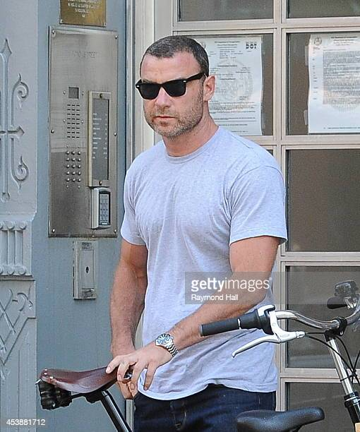Actor Liev Schreiber is seen in Soho on August 20 2014 in New York City
