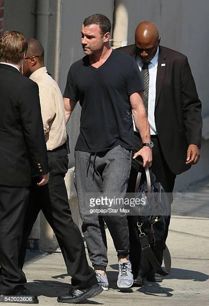Actor Liev Schreiber is seen on June 21 2016 in Los Angeles California
