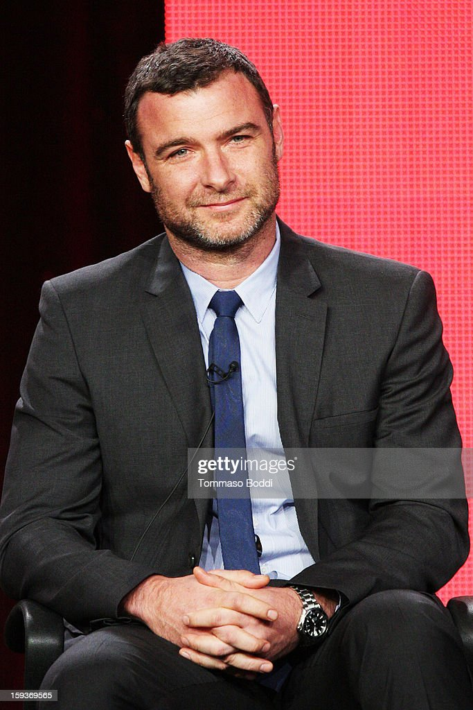 Actor Liev Schreiber of the TV show 'Ray Donovan' attends the 2013 TCA Winter Press Tour CW/CBS panel held at The Langham Huntington Hotel and Spa on January 12, 2013 in Pasadena, California.