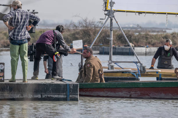 """ITA: """"Across The River And Into The Trees"""" Filming In Venice"""