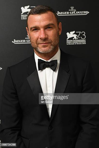 Actor Liev Schreiber poses for a portrait in the JaegerLeCoultre lounge before he receives the Visionary Talent Award next at Sala Grande during the...