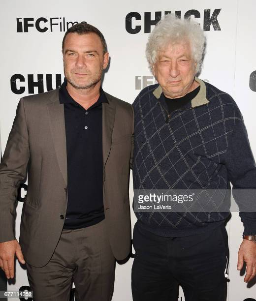 Actor Liev Schreiber Producer Avi Lerner attend the premiere of 'Chuck' at ArcLight Cinemas on May 2 2017 in Hollywood California