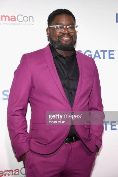 Actor Lil Rel Howery attends CinemaCon 2018 Lionsgate Invites You to An Exclusive Presentation Highlighting Its 2018 Summer and Beyond at The...