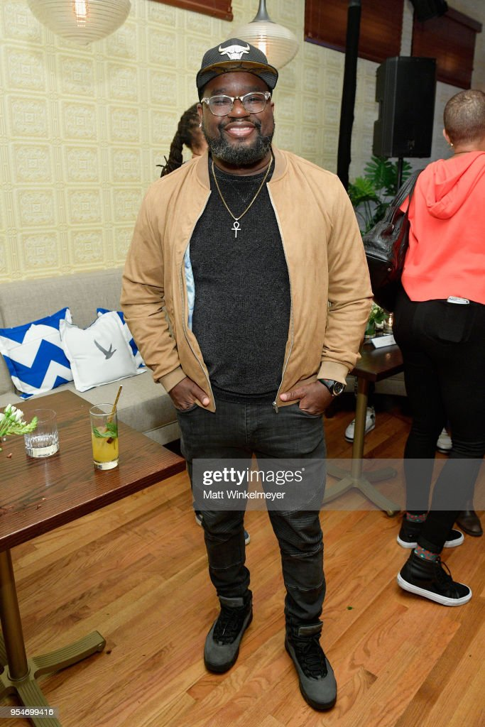 Actor Lil Rel Howery attends Grey Goose Vodka and Jamie Foxx Launch 'Off Script' at Employees Only on May 2, 2018 in West Hollywood, California.