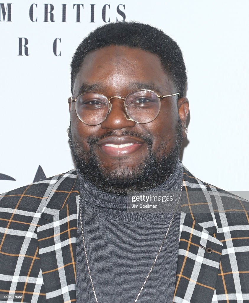 Actor Lil Rel Howery attends the 2017 New York Film Critics Awards at TAO Downtown on January 3, 2018 in New York City.
