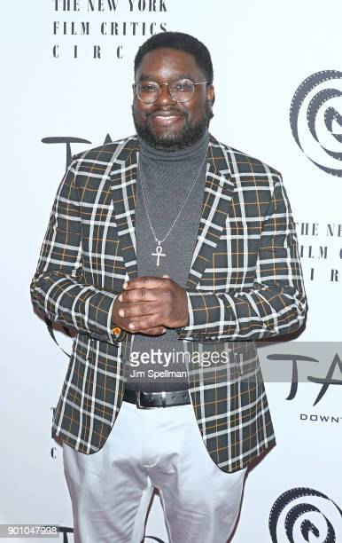 Actor Lil Rel Howery attends the 2017 New York Film Critics Awards at TAO Downtown on January 3 2018 in New York City