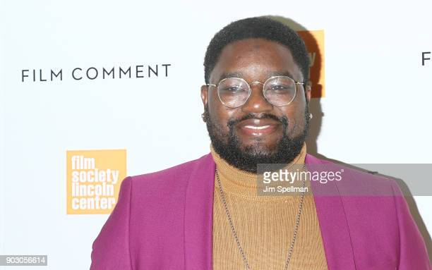 Actor Lil Rel Howery attends the 2018 Film Society of Lincoln Center and Film Comment luncheon at Lincoln Ristorante on January 9 2018 in New York...