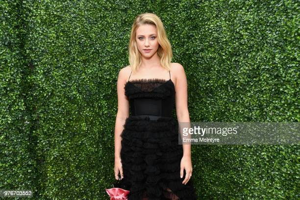 Actor Lili Reinhart attends the 2018 MTV Movie And TV Awards at Barker Hangar on June 16 2018 in Santa Monica California