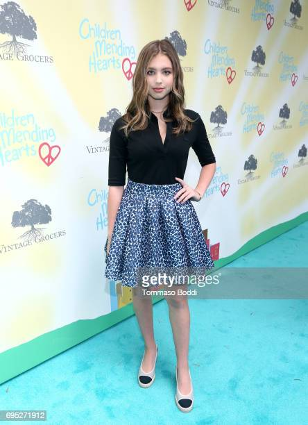 Actor Lilia Buckingham attends Children Mending Hearts' 9th Annual Empathy Rocks on June 11 2017 in Bel Air California