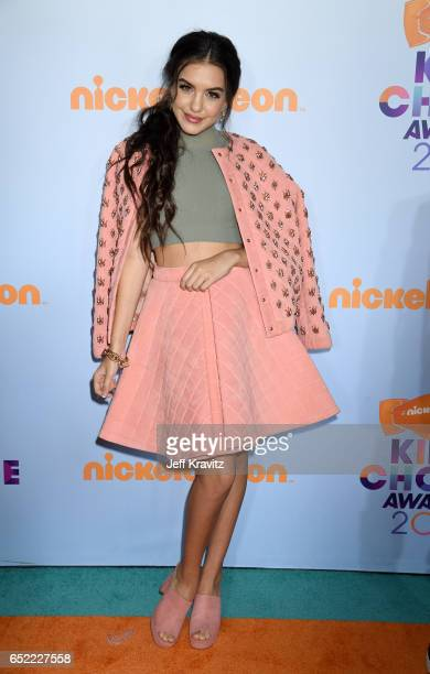 Actor Lilimar Hernandez at Nickelodeon's 2017 Kids' Choice Awards at USC Galen Center on March 11 2017 in Los Angeles California