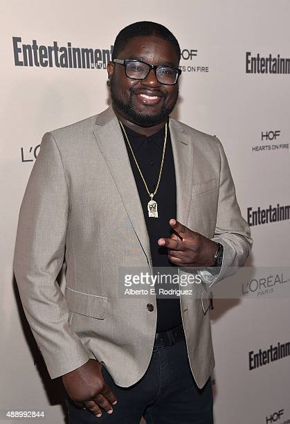 Actor LilRel Howery attends the 2015 Entertainment Weekly Pre-Emmy Party at Fig & Olive Melrose Place on September 18, 2015 in West Hollywood,...