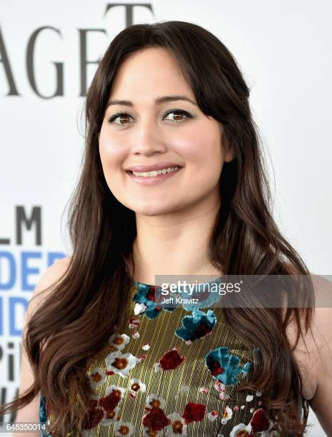 Actor Lily Gladstone attends the 2017 Film Independent Spirit Awards at the Santa Monica Pier on February 25 2017 in Santa Monica California