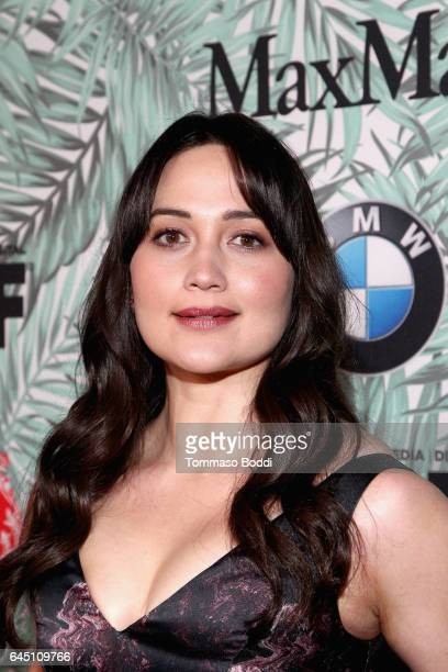 Actor Lily Gladstone attends the tenth annual Women in Film PreOscar Cocktail Party presented by Max Mara and BMW at Nightingale Plaza on February 24...