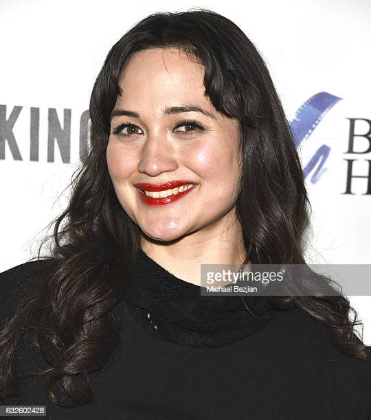 Actor Lily Gladstone attends the 'Walking Out' Party At The #IndieLounge at Indie Lounge on January 22 2017 in Park City Utah