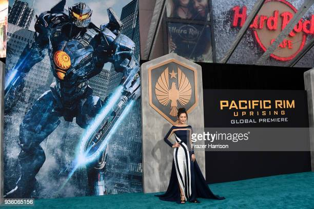 Pacific rim uprising getty images actor lily ji attends universals pacific rim uprising premiere at tcl chinese theatre imax voltagebd Gallery