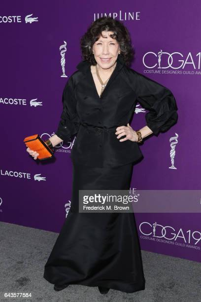 Actor Lily Tomlin attends The 19th CDGA with Presenting Sponsor LACOSTE at The Beverly Hilton Hotel on February 21 2017 in Beverly Hills California
