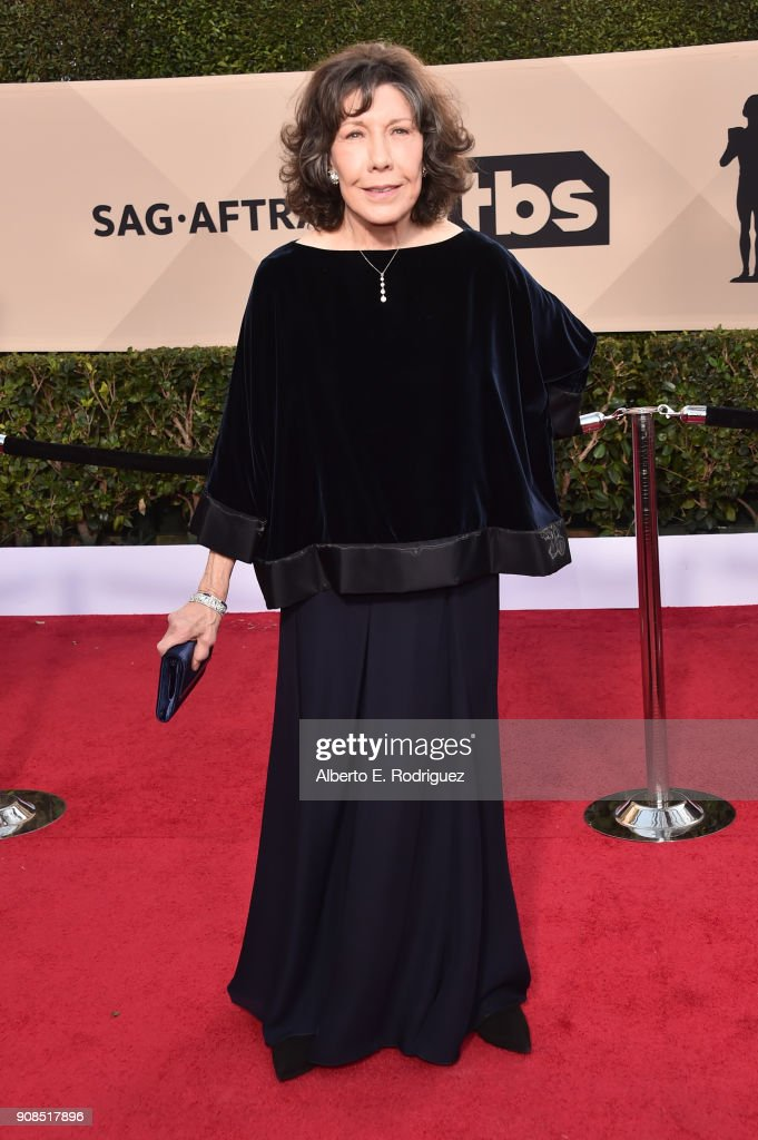 Actor Lily Tomlin attends the 24th Annual Screen Actors Guild Awards at The Shrine Auditorium on January 21, 2018 in Los Angeles, California. 27522_006