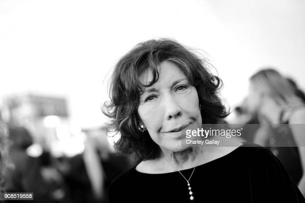 Actor Lily Tomlin attends the 24th Annual Screen Actors Guild Awards at The Shrine Auditorium on January 21, 2018 in Los Angeles, California....