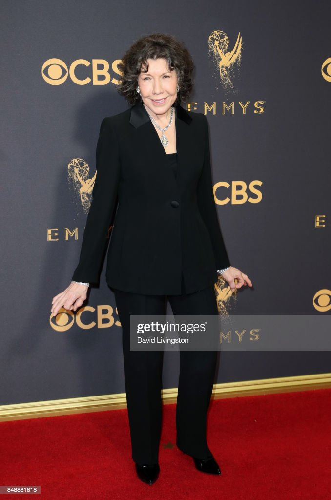 Actor Lily Tomlin attends the 69th Annual Primetime Emmy Awards - Arrivals at Microsoft Theater on September 17, 2017 in Los Angeles, California.