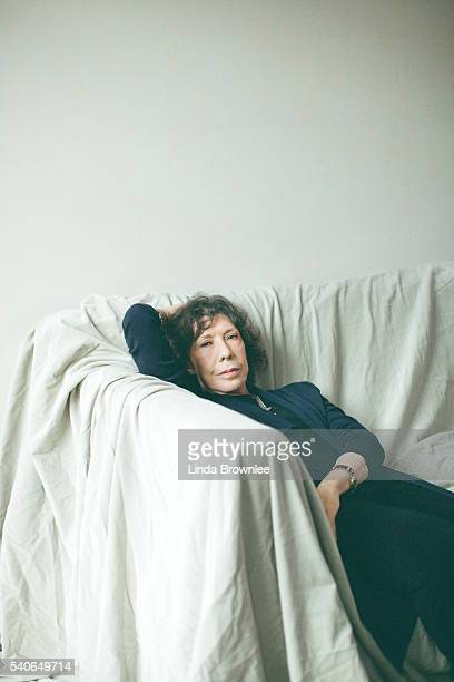 Actor Lily Tomlin is photographed for the Telegraph on November 30 2015 in London England