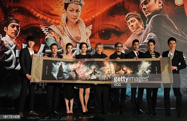 Actor Lin Gengxin producer Wang Zhonglei actress Angelababy actress Carina Lau director Tsui Hark director Chen Kuofu actor Mark Chao actor Kim Bum...