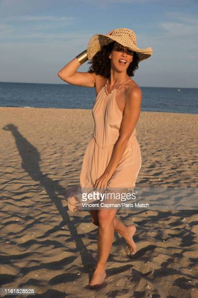 Actor Linda Hardy is photographed for Paris Match on July 17 2019 in Sete France