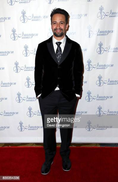 Actor LinManuel Miranda attends the 32nd Annual Imagen Awards at the Beverly Wilshire Four Seasons Hotel on August 18 2017 in Beverly Hills California