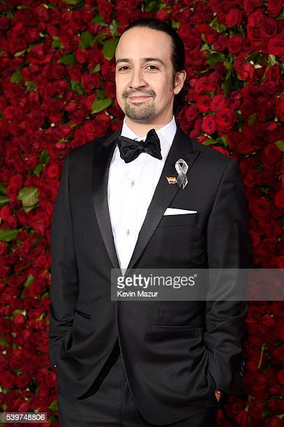 Actor LinManuel Miranda attends the 70th Annual Tony Awards at The Beacon Theatre on June 12 2016 in New York City