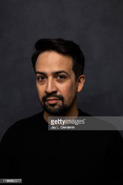 Actor LinManuel Miranda from 'Siempre Luis' is photographed in the LA Times Studio at the Sundance Film Festival on January 25 2020 in Park City Utah...
