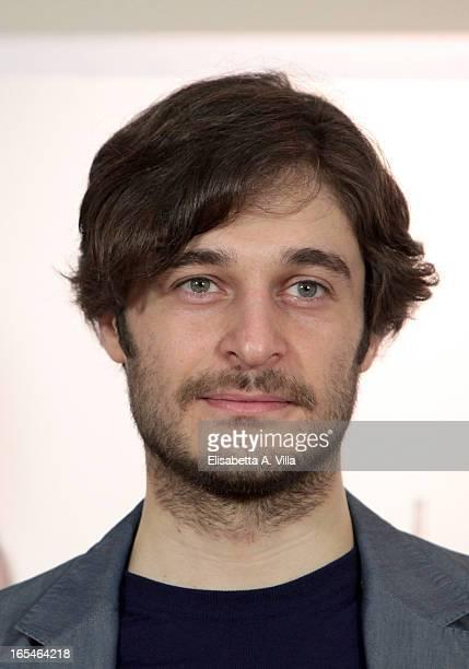 Actor Lino Guanciale attends 'Il Volto di un'Altra' at Cinema Barberini on April 4 2013 in Rome Italy