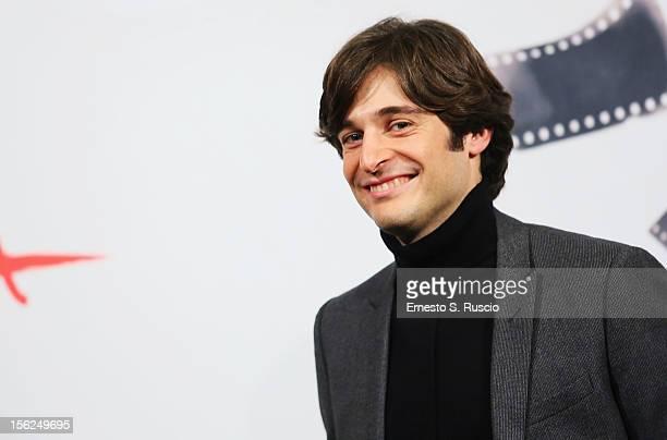 Actor Lino Guanciale attends the 'Il Volto Di Un'Altra' Photocall during the 7th Rome Film Festival at the Auditorium Parco Della Musica on November...