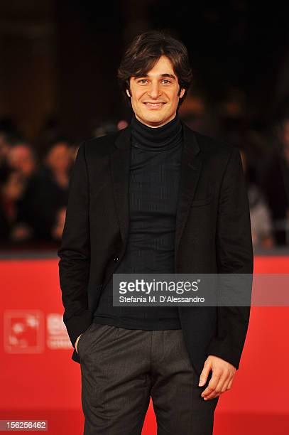 Actor Lino Guanciale attends the 'Il Volto Di Un'Altra' Premiere during the 7th Rome Film Festival at the Auditorium Parco Della Musica on November...