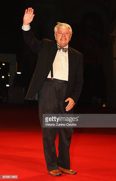 Actor Lino Toffolo attends the Yuppi Du premiere at the Sala Grande during the 65th Venice Film Festival on September 4 2008 in Venice Italy