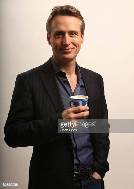 Actor Linus Roache of the film Yonkers Joe poses for a portrait at the Amex Insider's Center during the 2008 Tribeca Film Festival on April 24 2008...