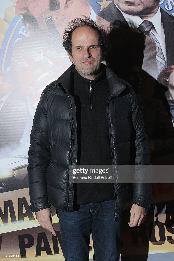 Actor Lionel Abelanski attends the Paris Premiere of the movie 'Mais Qui A Re Tue Pamela Rose', at Cinema Gaumont Marignan on December 2, 2012 in Paris, France.